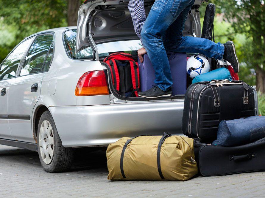 Automobile : ne surchargez pas le véhicule.
