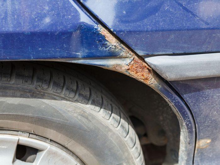 Automobile : protégez-la de la rouille.