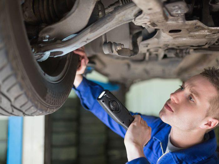 Inconvénient #7 : Une voiture usagée doit être inspectée