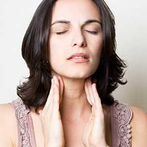 Autoexamen de la thyroïde