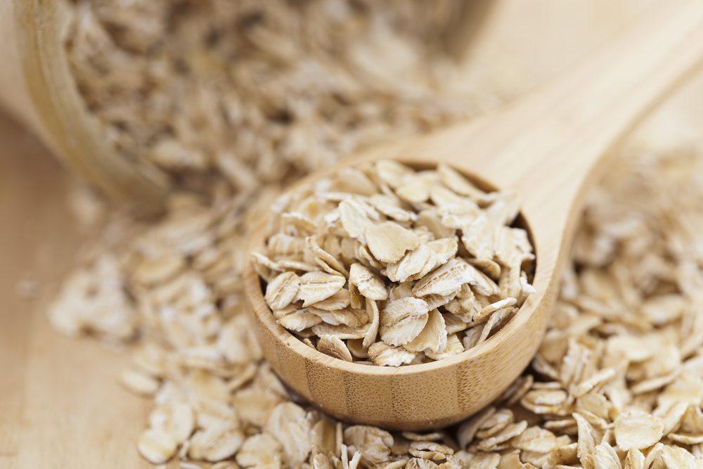 oat bran helps eliminate abdominal fat
