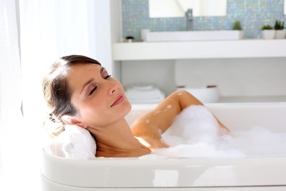 4. Prenez un bain de luxe