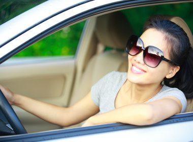 2. Baissez les fenêtres sur les petites routes