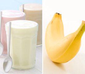 7. Pour refaire vos réserves de carburant après l'entraînement, combinez yogourt et banane