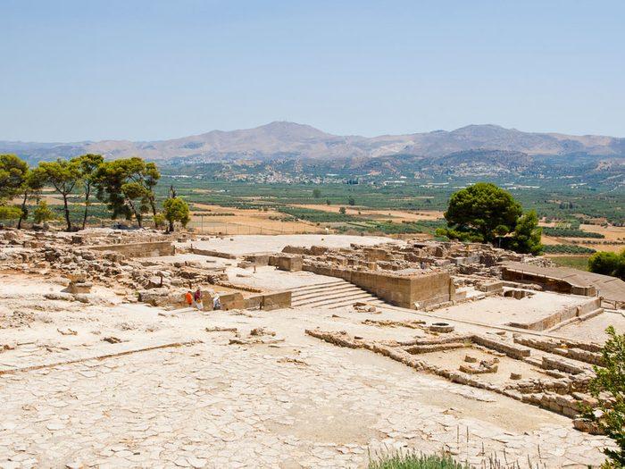 3. Le palais de Phaistos, Crète