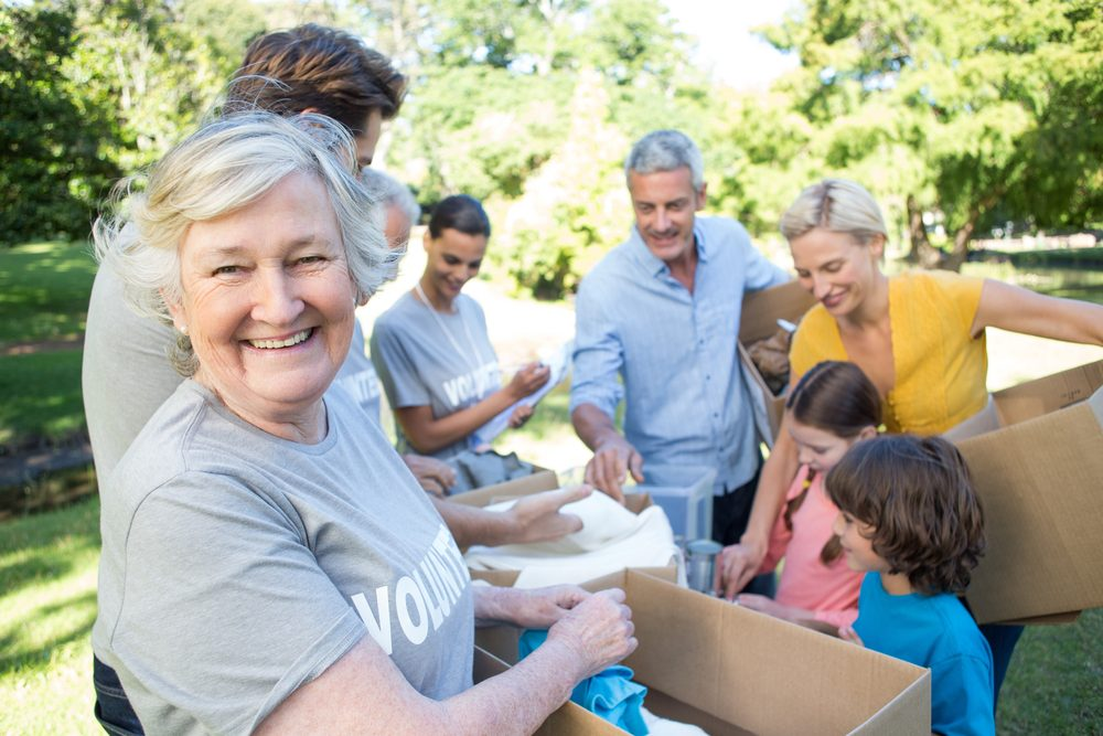 Le bénévolat et le bien-être psychosocial