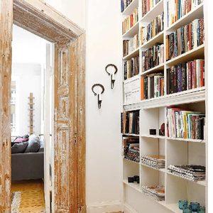 4. Bibliothèques encastrée