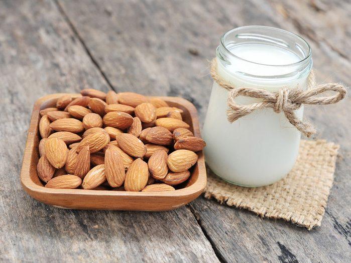 Les bienfaits santé du lait d'amande