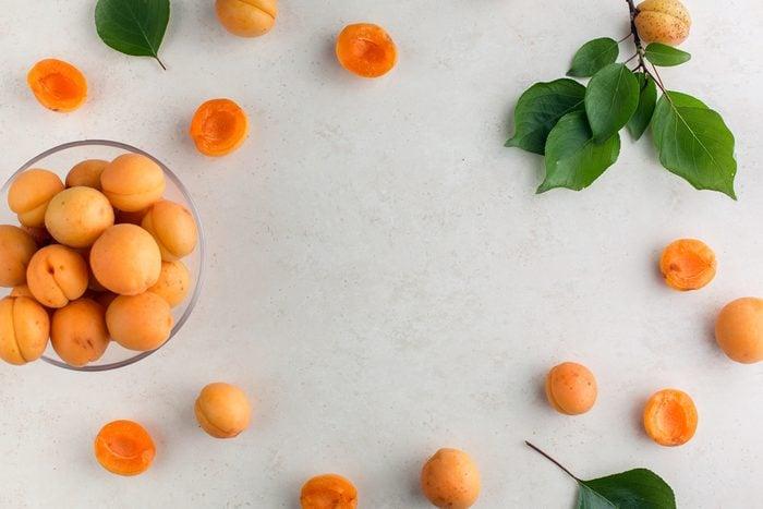 3. L'abricot nous donne une mine radieuse