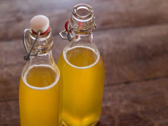 Le kombucha : boisson pétillante antioxydante