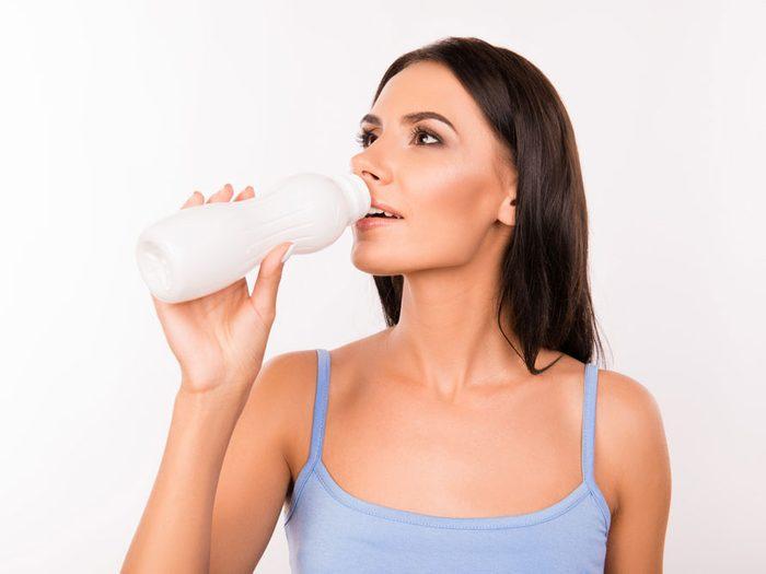 Le lait fermenté : un breuvage puissant