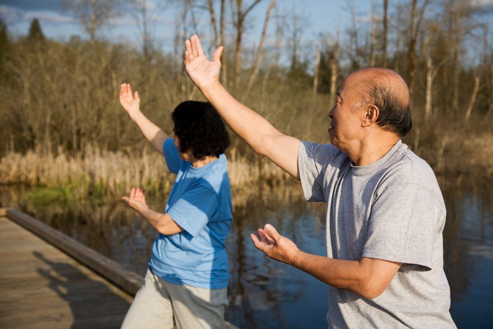 Étude sur les bienfaits santé du tai-chi