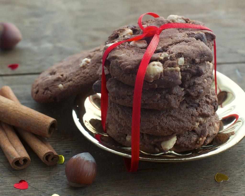 Ces biscuits au chocolat, noix et raisins secs sont faibles en calories