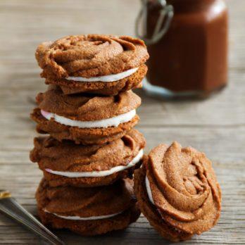 Recette facile de biscuits au chocolat à la guimauve
