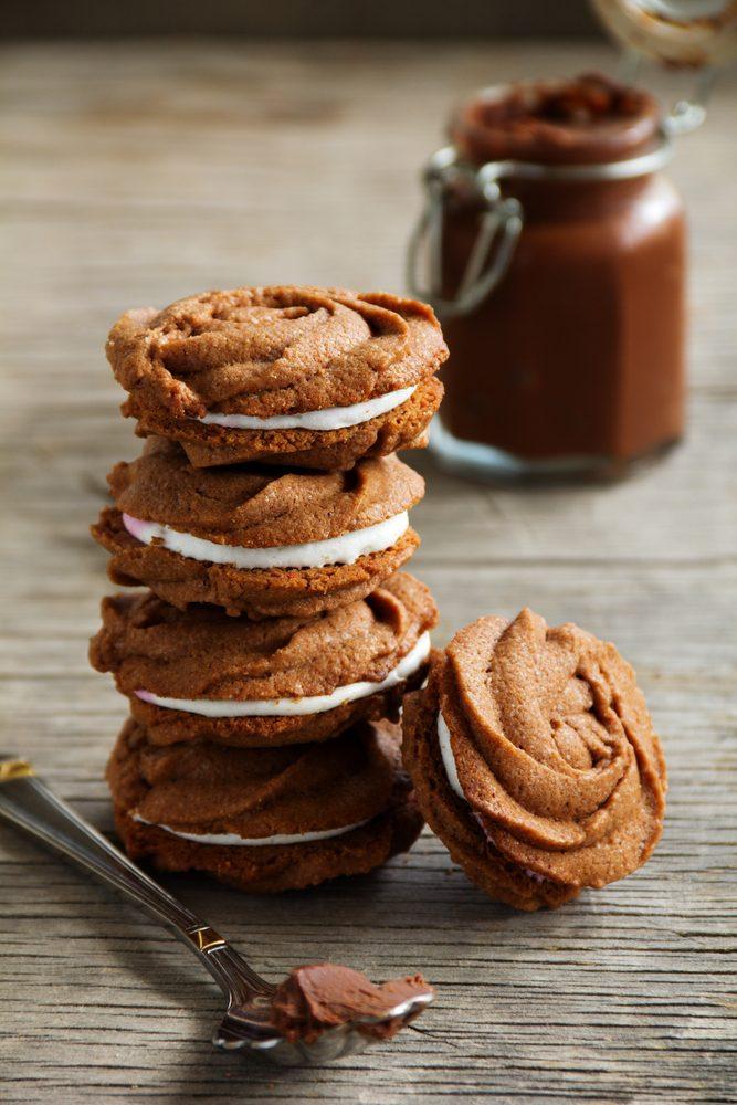 Une recette facile de biscuits au chocolat à la guimauve
