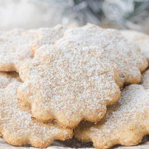 Biscuits sablés.