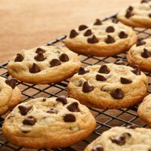 Recette de biscuits au chocolat faible en gras