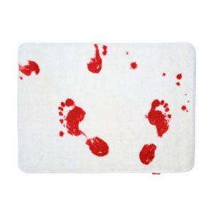 6. Tapis de douche sanglant Bath Mat