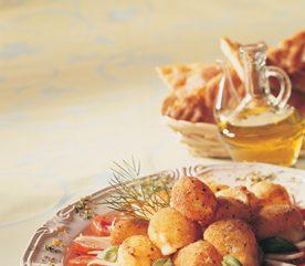 6. Bocconcini frit au parfum de romarin