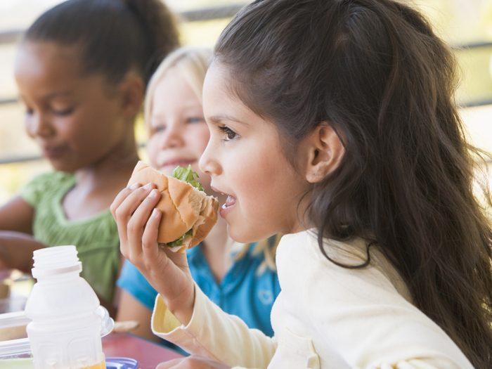 Garnissez les lunchs des enfants
