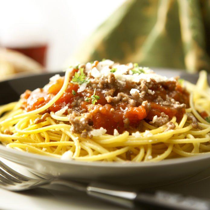 Sauce bolognaise végétalienne aux lentilles