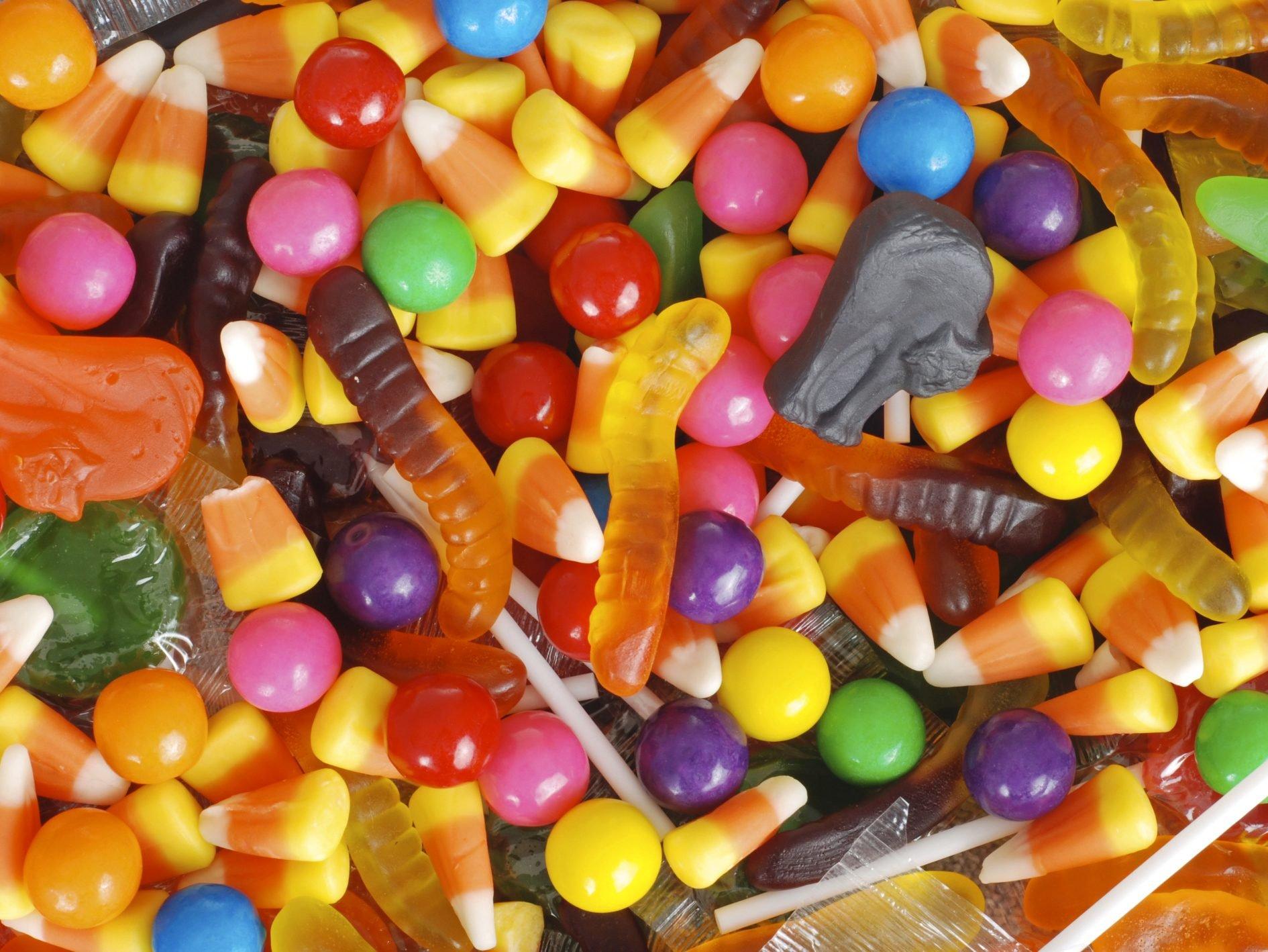 Gestion des bonbons à l'Halloween