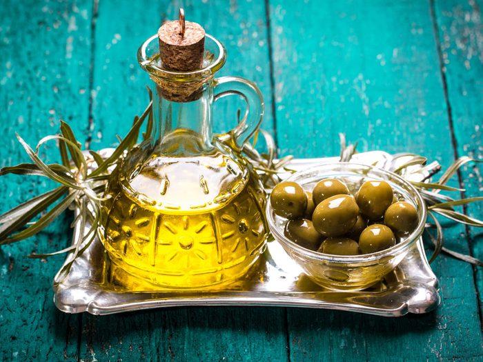 Huile d'olive: un bon gras à consommer
