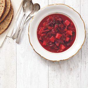 2. Soupe Bortch à la russe