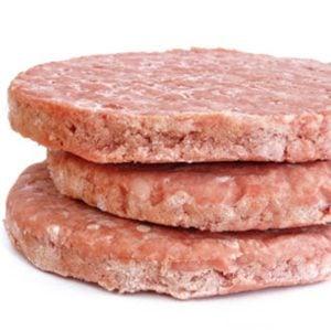 14. Galettes de viande prémoulées