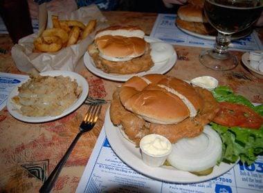 Sandwiches de cerveau frit - États-Unis