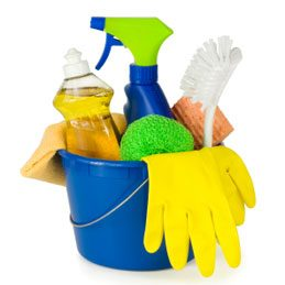 7. Examinez vos produits de nettoyage domestiques
