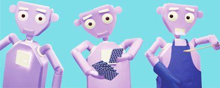 Des robots affectueux