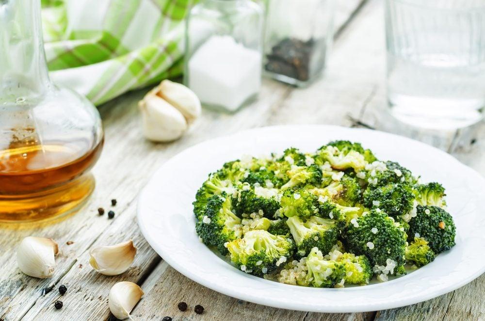 Le brocoli est une bonne source de protéines pour les végétariens