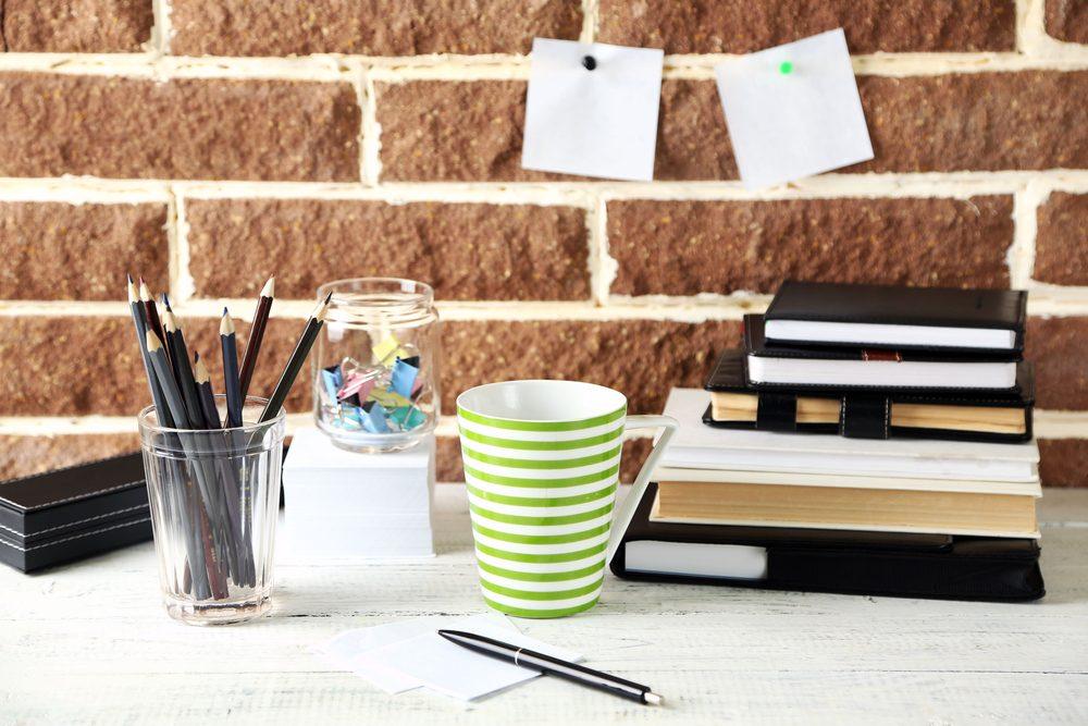 Gestion du stress: soyez organisé au travail pour faire diminuer votre niveau d'anxiété.