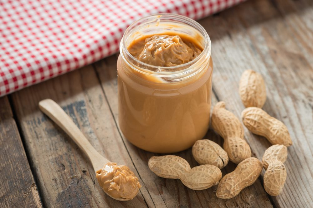 Source de protéines végétales : les cacahuètes.