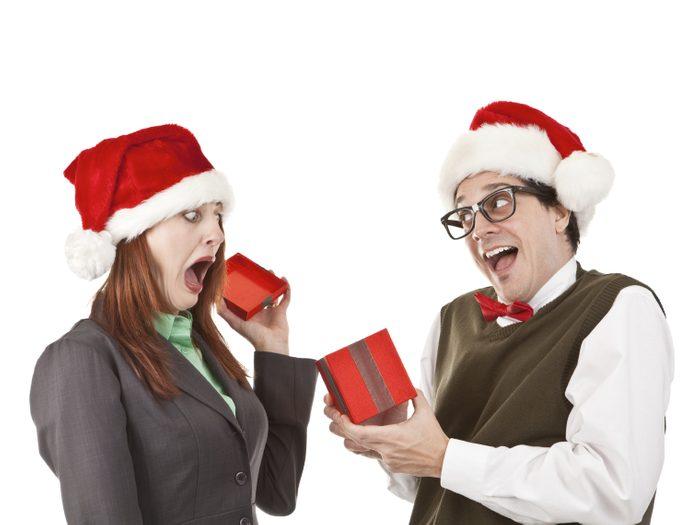 5. Le cadeau plaisanterie
