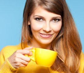 3. Avalez une tasse de café