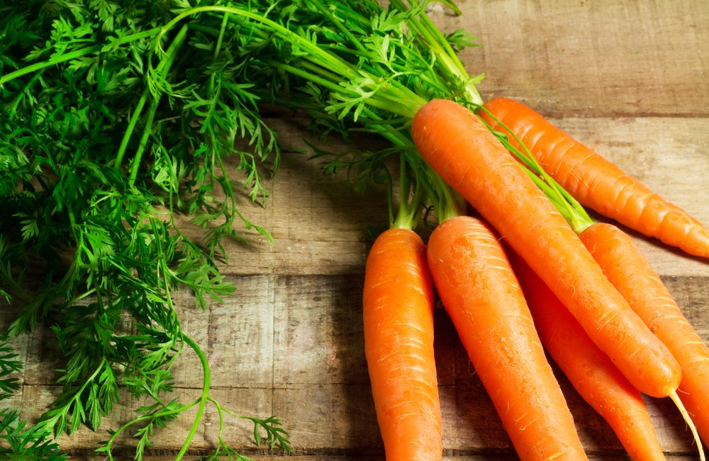 1. Carrot is essential to a healthy lifestyle