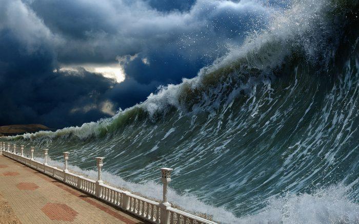 Une catastrophe naturelle vient gâcher votre voyage.