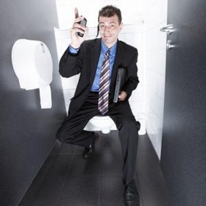 5. Utiliser votre téléphone aux toilettes