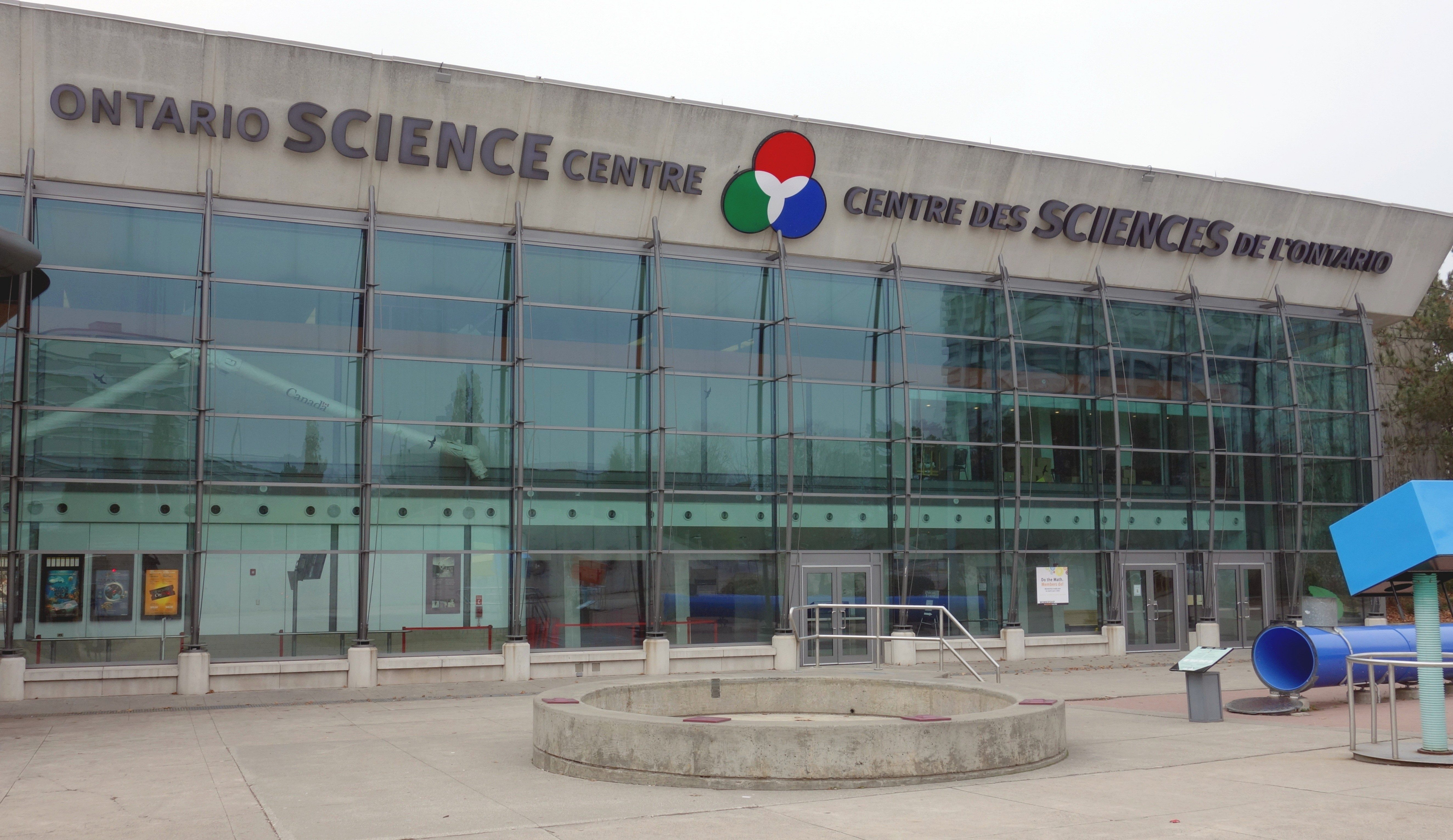 12. Le Centre des sciences de l'Ontario