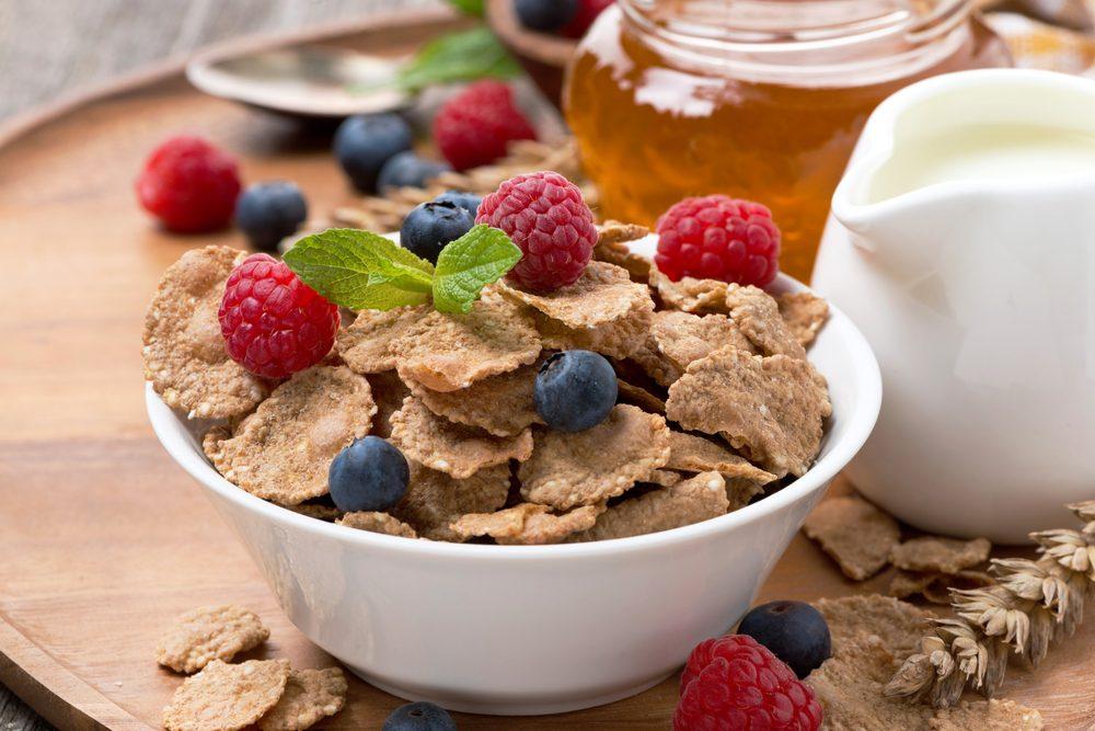 Les céréales entières constituent une excellente source de protéines végétariennes