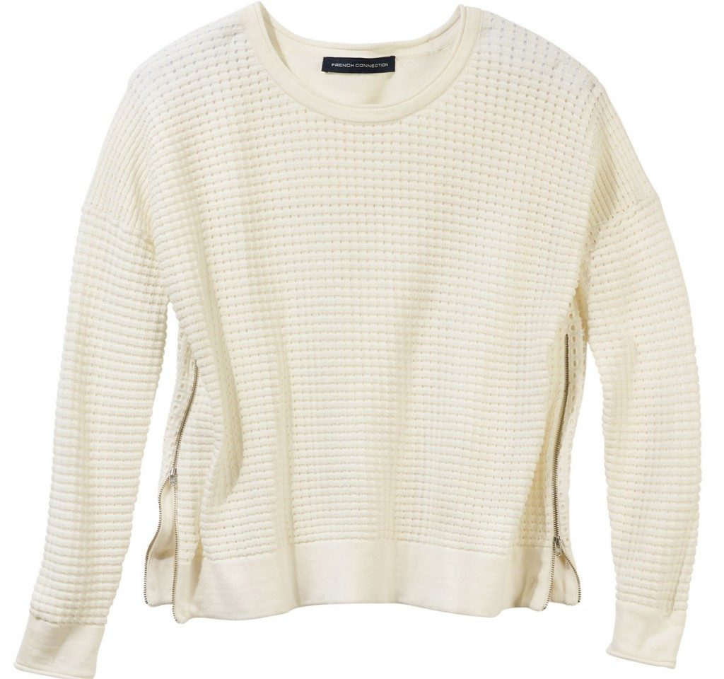 Couvrez le haut d'un joli tricot