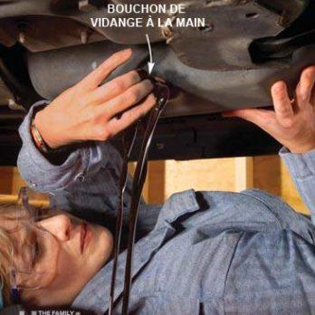 Comment changer l'huile de sa voiture