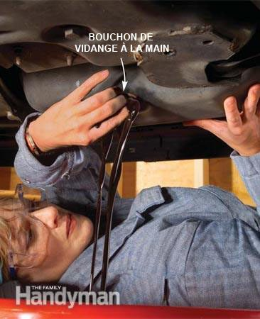 Changer l'huile de la voiture : étape par étape