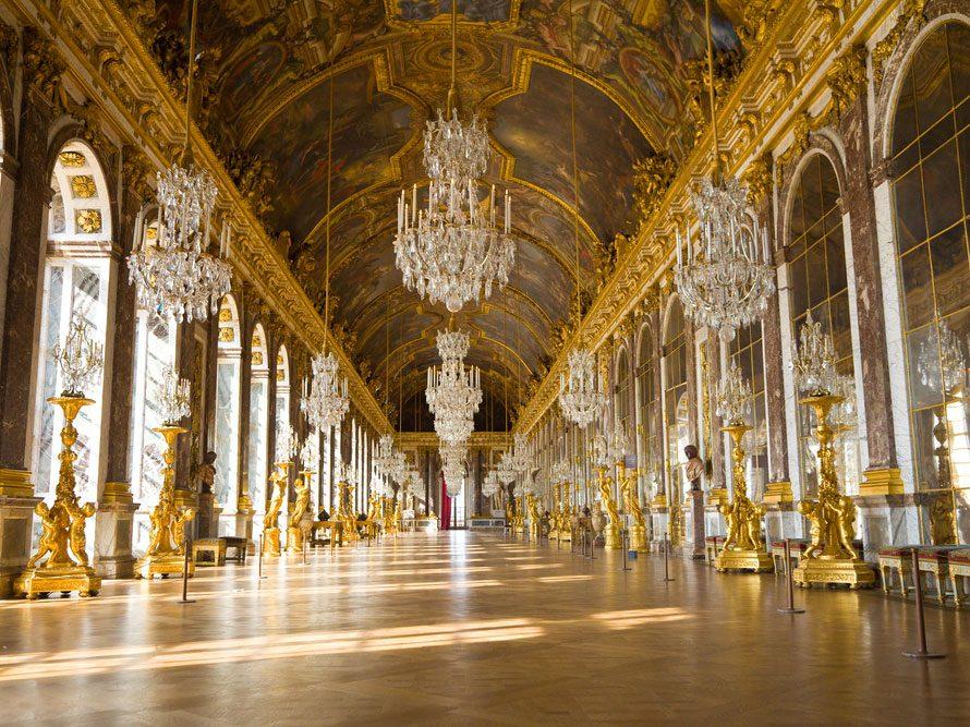 Le selfie le plus beau: la galerie des Glaces du château de Versailles