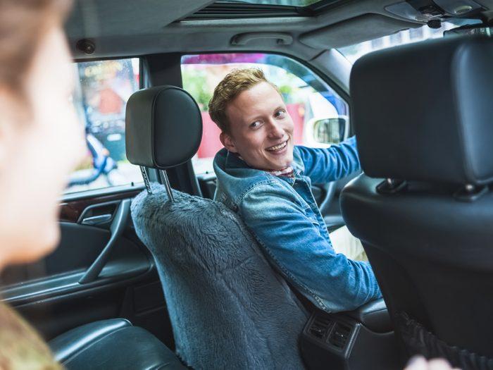 Les confessions d'un chauffeur de taxi