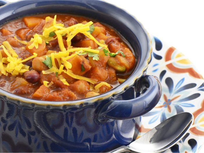 Une recette de chili végétarien pour les lundis sans viande