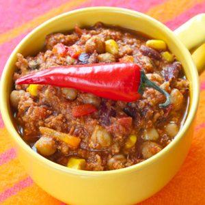 1. Chili con carne