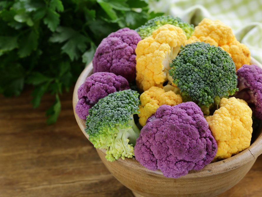 Du chou-fleur aux antioxydants